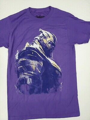 Marvel Avengers End Game Movie Thanos  Officially License 2019  Men's T-Shirt