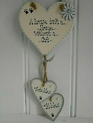 💞New  Personalised pet cat lover, kitten,gift, home, pet loss sign 💞
