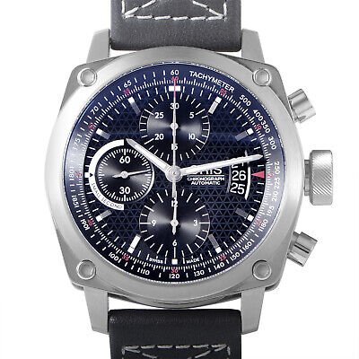 Oris BC4 Chronograph Mens Stainless Steel Automatic Watch 0167476164154-07522...