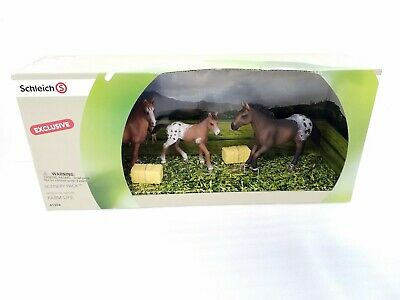 Appaloosa Mare and Foal Schleich Bundle of 2