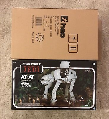 Star Wars ATAT The Vintage Collection Brand New Original Shipping Carton Hasbro