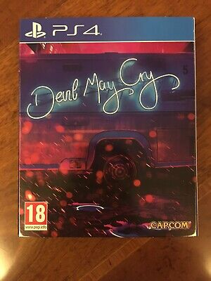 Devil May Cry 5 Deluxe Edition PS4 Steelbook PAL ITA Limited