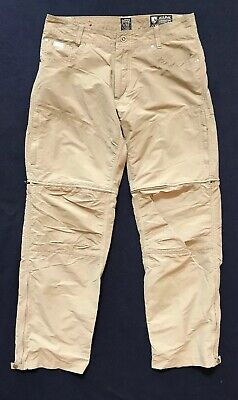 Pants Creative Kuhl Gray Stealth Liberator Convertible Zip-off Hiking Trekking Pants Mens 34x32