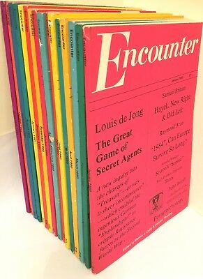 Vintage Encounter Magazine x16 Job Lot 1980 1981 Melvin J Lasky Anthony Thwaite