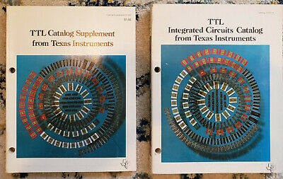 Texas Instruments TTL Integrated Circuits Catalog and Supplement 1969-1970