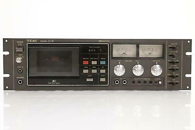 Teac C-3 Three Head Dolby System Cassette Player Recorder Tape C3 #35646