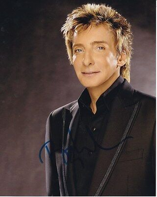 BARRY MANILOW Signed Autographed Photo
