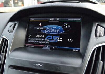 Ford F7 Sync2 Navi Sd Map Europe 2018–2019