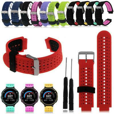 EG_ Silicone Wrist Watch Band Strap For Garmin Forerunner 220 230 235 620 630 My