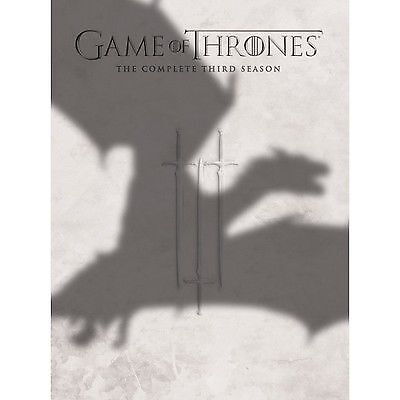 Game Of Thrones - Series 3 - Complete (DVD, 2014, 5-Disc Set, Box Set)
