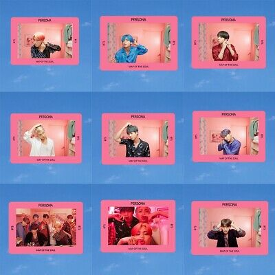 KPOP BTS Bangtan Boys Album MAP OF THE SOUL:PERSONA Lomo Photo Card Photocard