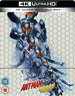 Ant-Man and the Wasp Steelbook 4K Ultra HD + Blu-Ray