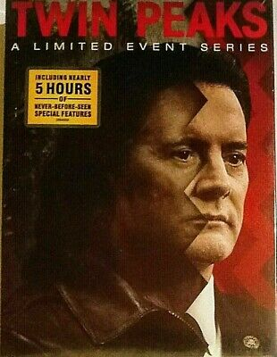 Twin Peaks: A Limited Event Series (2017). 8-Disc Dvd Box Set Free Shipping New