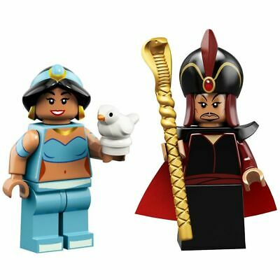 LEGO DISNEY Jasmine and Jafar Minifigures - Aladdin Series 2 Minifigure 71024