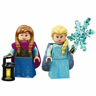 LEGO FROZEN Anna & Elsa DISNEY Princess Minifigures Sisters Series 2 71024 NEW