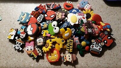 Lot Of 50 Random Crocs Charms Great for treasure chest, party favors, craft uses