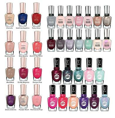 Sally Hansen Nail Polish Miracle Gel Complete Salon Colour Therapy Hard As 15ml