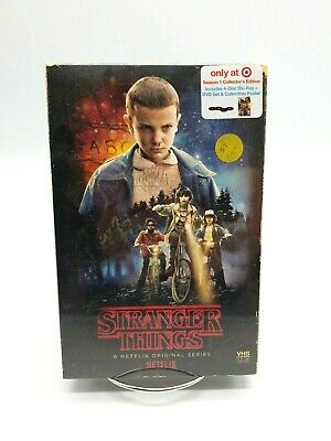 Stranger Things Season 1 Target Exclusive Blu-Ray DVD Collector's Set New Sealed