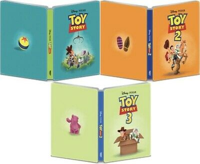 Toy Story 1,2 and 3 (SteelBook)(4K Ultra HD)(UHD)(Atmos)