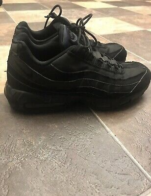 7c08b8884dfad3 Nike Air Max 95 Triple Black Men s Sneakers Shoes 609048-092 Size 13 Used