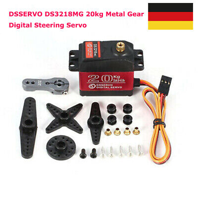 DS3218MG 20kg Metall Getriebe Digital Lenkservo für RC Auto Helicopter B8L9
