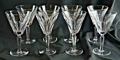 "WATERFORD Crystal SHEILA Cut Water Goblet Glass 7""  LRG wine stunning - 8 avail."