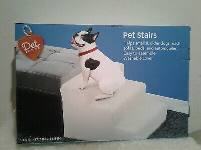 New Pet Central Easy Step 3 Steps Dog Cat Stairs Ladder for Couch or Bed