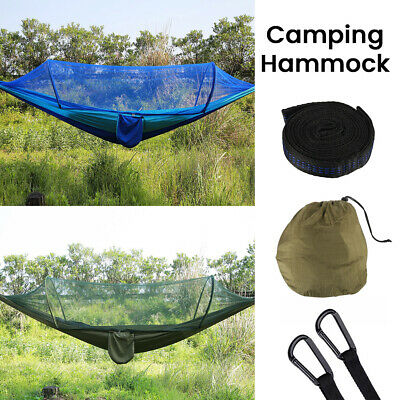 Hot Outdoor Jungle Camping Tent Hammock Mosquito Net Military Bushcraft Globe CA