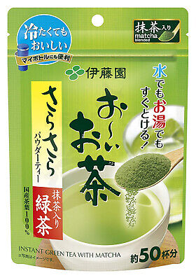 Itoen Japanese Green Tea Matcha blended Oi Ocha Instant 40g (About 50 Servings)