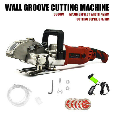 Wall Groove Cutting Machine Electric Wall Chaser Slotting Machine Tool