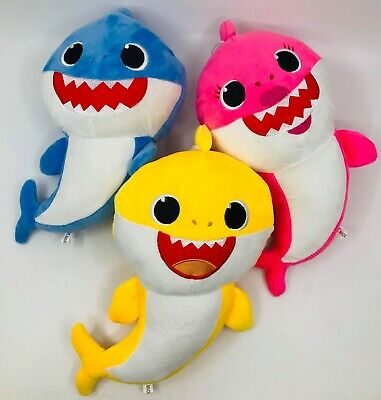 Baby Shark soft toy Family 30CM Plush Toys Gift for Kids Baby