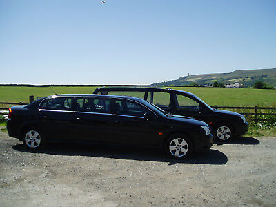 Vauxhall Vectra Statesman 5 Dr Hearse And 6 Dr Limousine (Fleet)