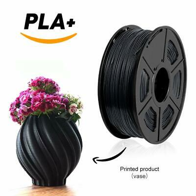 UK Seller 3D Printer Filament PLA - 1.75mm -1KG(350Meters) - Black Colour - Fast