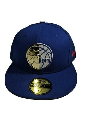242e48b2e7e436 Philadelphia 76ers New Era Royal 2018 Playoffs 59FIFTY Fitted Hat Size 7 1/2