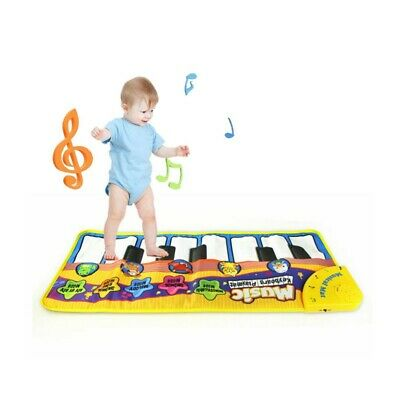 Kid Baby Musical Piano Play Mat Development Educational Soft Toys for Boy&Girl