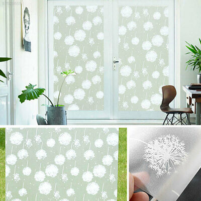 B6F7 Translucent Frosted Glass Film Sticker Window Decal Bedroom Decoration