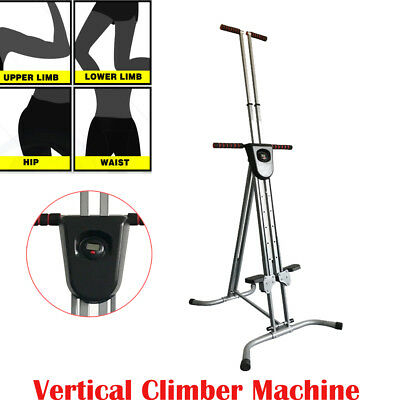 Vertical Climber Machine Exercise Stepper Cardio Workout Fitness Training Tool