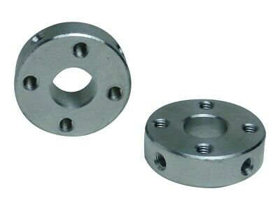 Aluminum Hub with Bore for 8mm shaft - 22mm out diameter - 16mm hole distance -