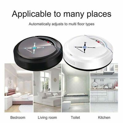 Rechargeable Self Navigated Smart Robot Vacuum Cleaner Auto Sweeper Edge Clean