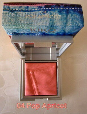 KIKO Rock Attraction Blush 04 Pop Apricot. LIMITED EDITION.