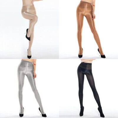 Hearty Classic Hottest Womens Sheer Sexy Shiny Glossy Stocking Oil Pantyhose Tights Jumpsuits