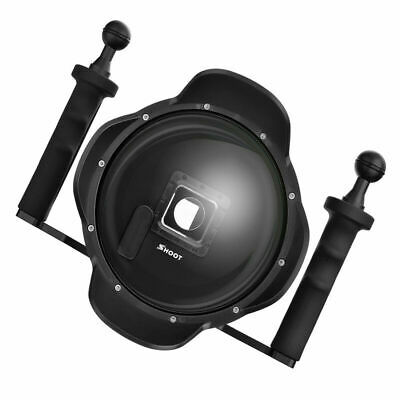 SHOOT 6 Inch Dome Port Lens Housing Diving Case Underwater Shell for GoPro AU