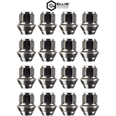 16x OE Alloy Wheel Nuts  For Ford Focus MK2, Lugs, Captive Washers, M12 X 1.5