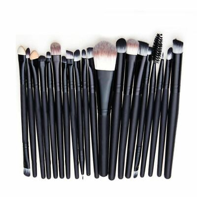 20tlg Professional Make up Brush Kosmetik Pinsel Schminkpinsel Set Werkzeug FU