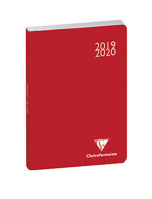 """Agenda scolaire """"Work & After"""" - 2019/2020 - Rouge"""