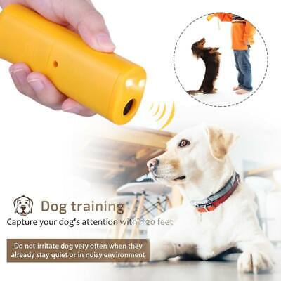 Pet Dog Anti Barking Ultrasonic Stop Bark Training Repeller Trainer Device Tool