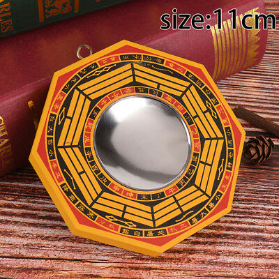 """4"""" Inch Chinese Dent Convex Bagua Mirror Blessing House Protection Feng Shui JP"""