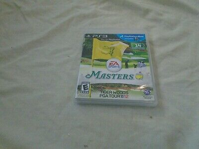 Tiger Woods PGA Tour 12: The Masters (Sony PlayStation 3, 2011)