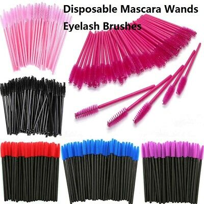 25/50/100PCS Disposable Mascara Wands Eyelash Brushes Lash Extension Applicator