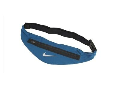 6de97b26e25e7 Nike AC9691-082 Zip Pocket Expandable Waistpack Waist Bag Pack Run Belt Blue